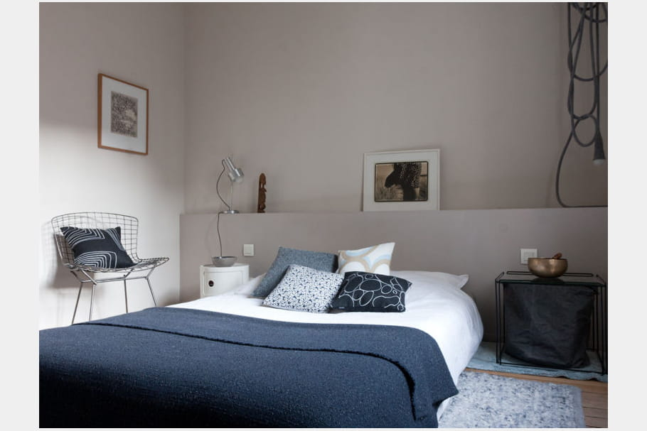 Chambre bleue grise - Decoration chambre bleue ...
