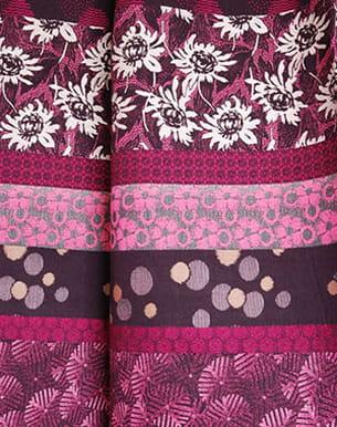 tissu jacquard 'boro' de kenzo maison, distribué par lelièvre