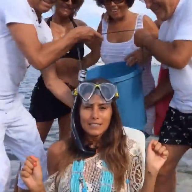 Karine Ferri Ice Bucket Challenge