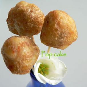 pop cake à la crevette