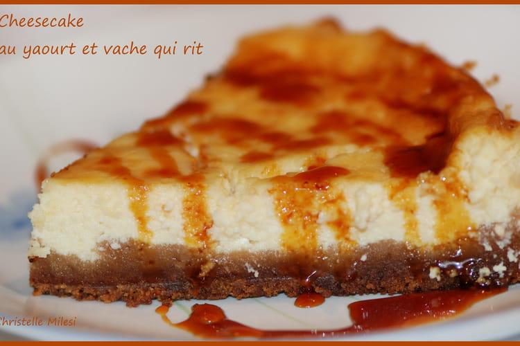 Cheesecake au yaourt et vache qui rit