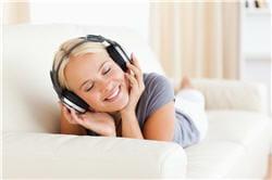 l'oreille humaine est capable de percevoir des sons de différentes fréquences.