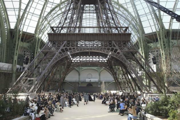 La tour Eiffel s'invite au Grand Palais