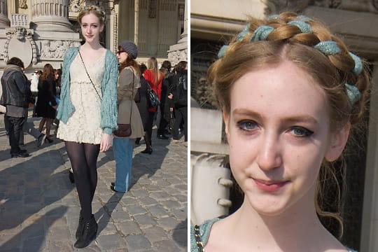 Fashion week : les street looks des défilés parisiens PAP automne-hiver 2011-2012 75
