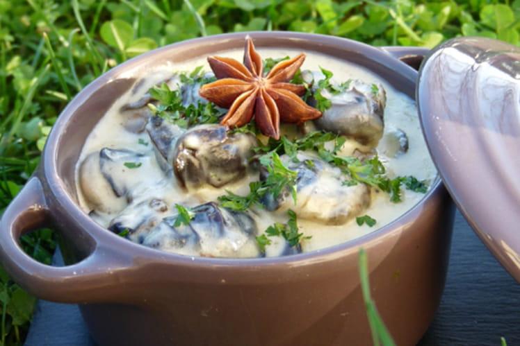 Recette de mini cocotte d 39 escargots l 39 anis toil la - Etoile de badiane cuisine ...