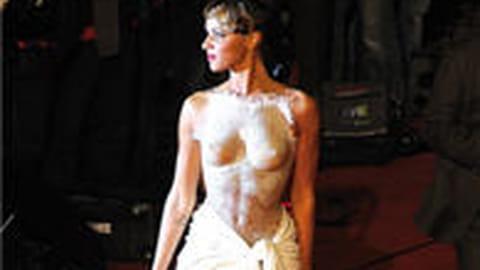 Franck Sorbier vend la robe portée par Shy'm aux NRJ Music Awards