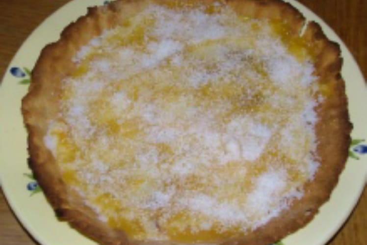 Tarte d'antan abricots-coco