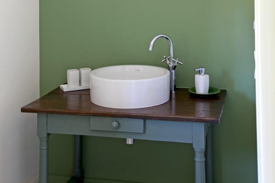 Quelle peinture pour la salle de bains journal des femmes for Quelle peinture pour la salle de bain