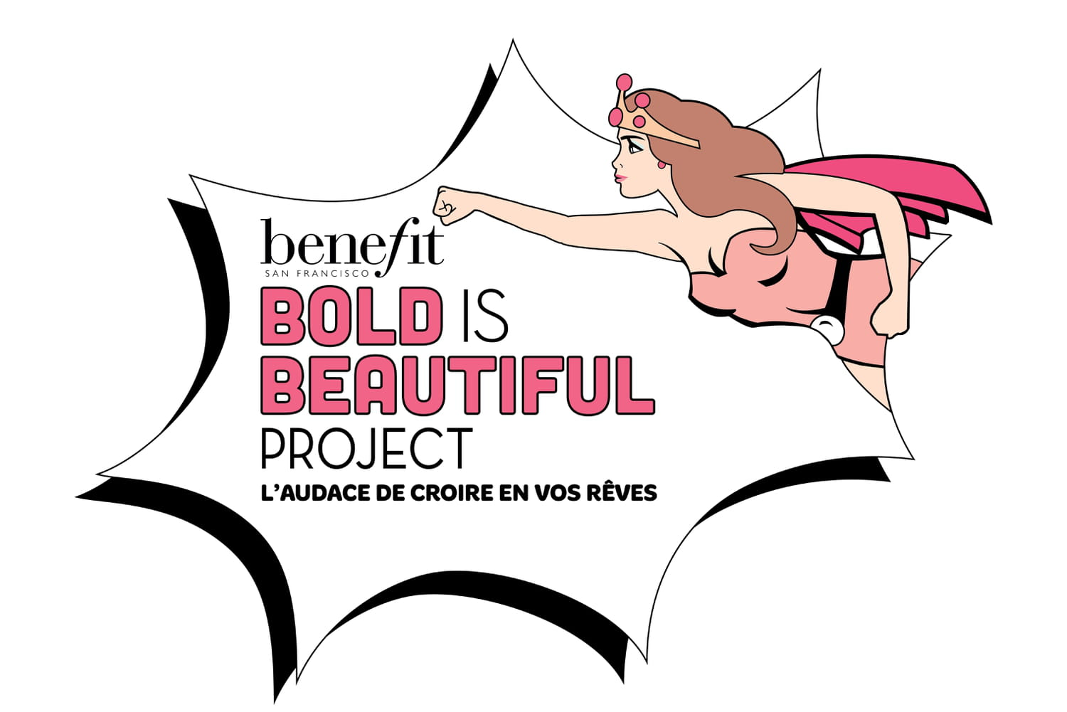 Bold Is Beautiful Project : Benefit s'engage pour les femmes !