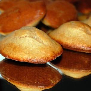 madeleines à la crème de marron