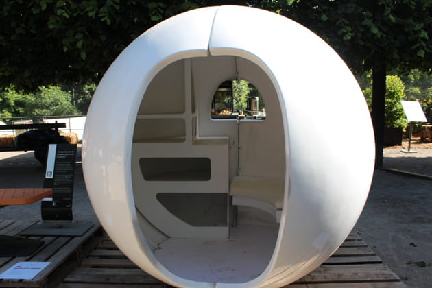 Une cabane tout droit venue du futur
