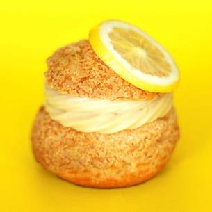 choux croustillants spéculoos et citron