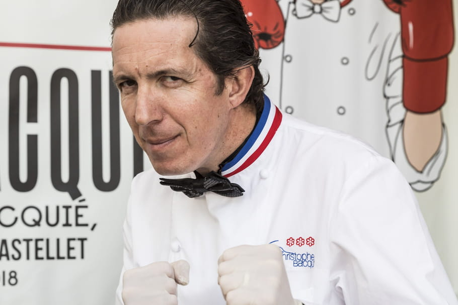 """Christophe Bacquié: """"Le chef est un metteur en scène"""""""