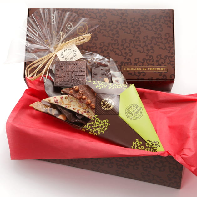 Mon bouquet d'amour de l'Atelier du Chocolat