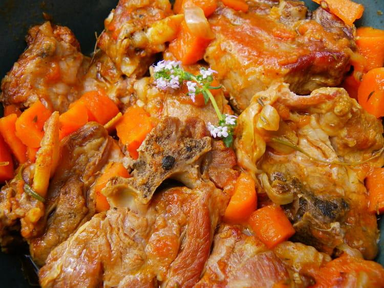 Recette de rago t d 39 agneau au cumin la recette facile - Cuisiner du collier d agneau ...