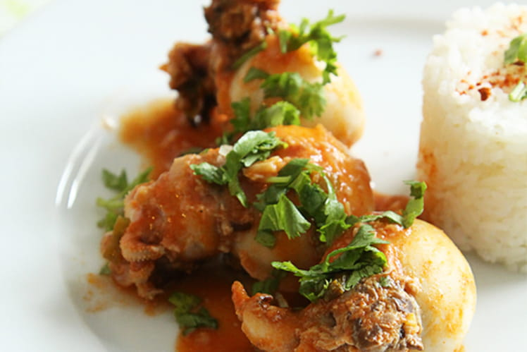 Encornets farcis au boeuf sauce tomate