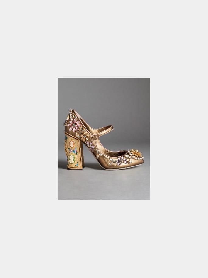 "Escarpins ""MARY JANE COCO NAPPA"" de Dolce & Gabbana"