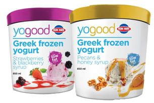 yaourt glacé grec yogood