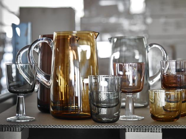 Les verres Sittning série d'IKEA