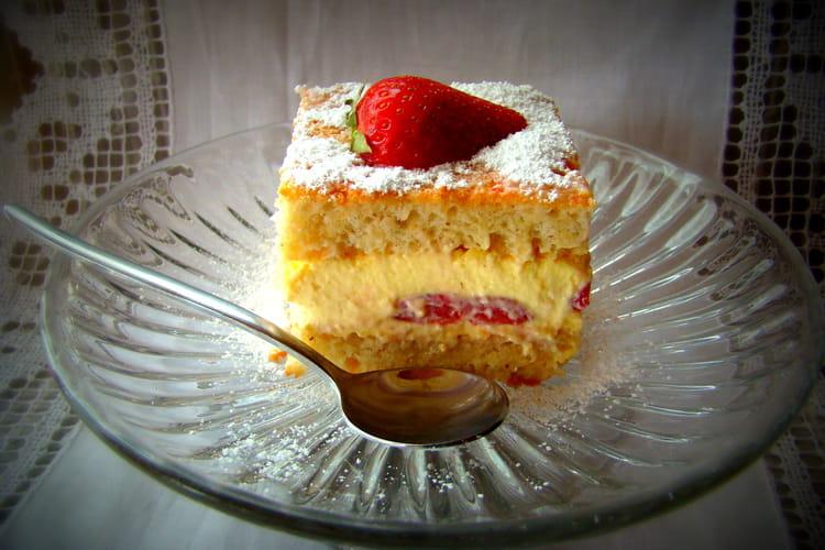 Dacquoises aux fraises