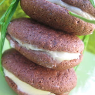 whoopies pies choco-citron