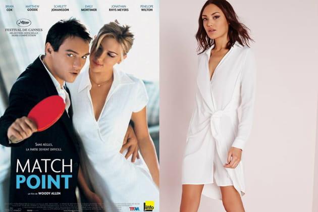 """Une robe portefeuille façon Nola Rice dans """"Match Point"""""""