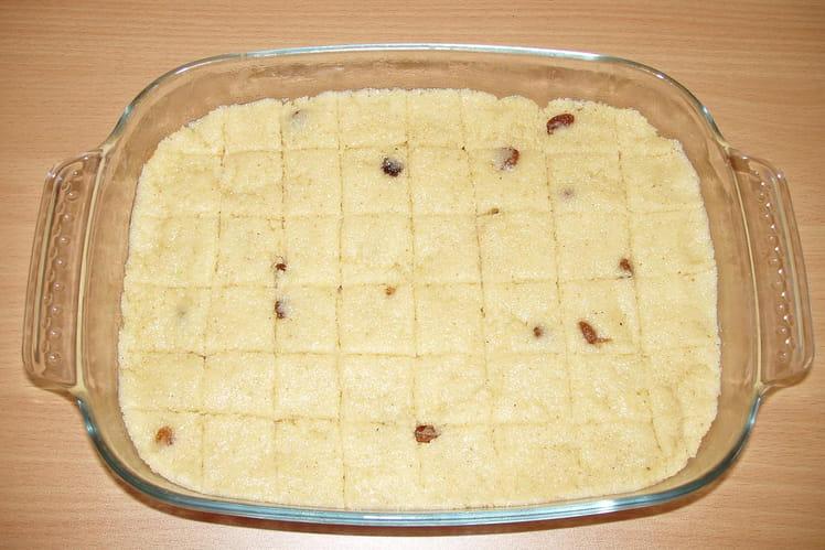 Kesari (gâteau de semoule à l'indienne)