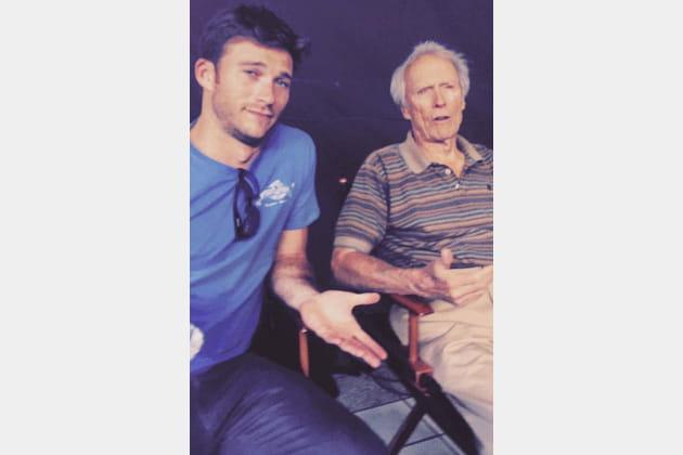 Clint Eastwood et son fils Scott