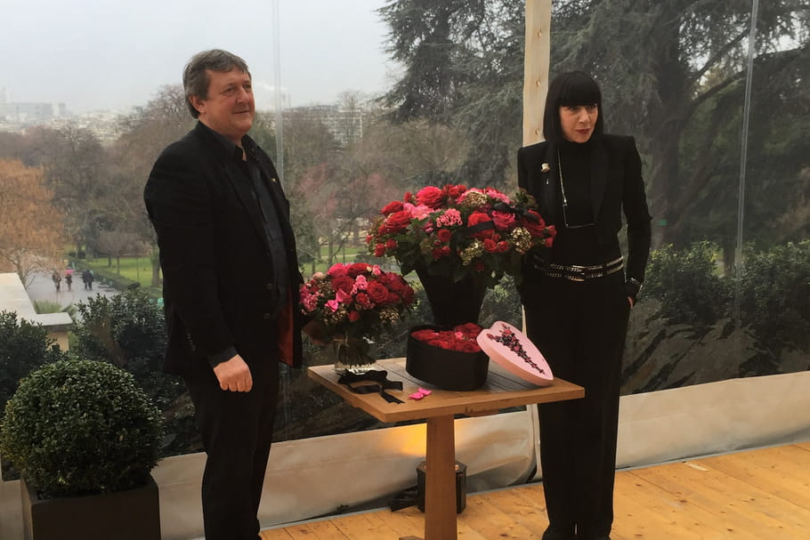 Chantal Thomass et Interflora fleurissent la Saint-Valentin