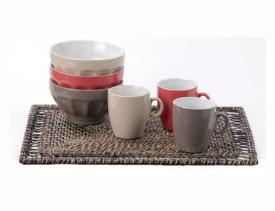 ensemble 'rattan', 'mandy' et mug de casa
