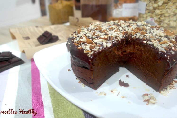 Pudding au cacao et à la patate douce