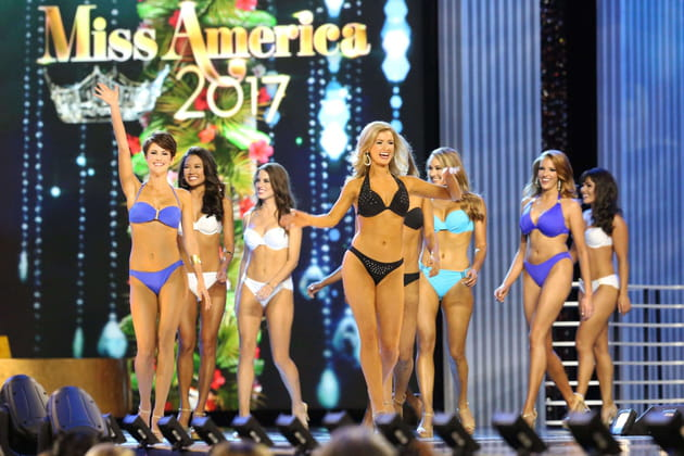 Les candidates Miss America
