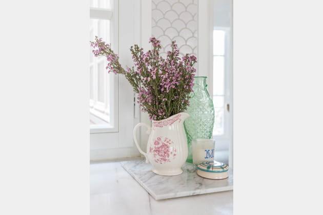Bouquet de bruyère séchée