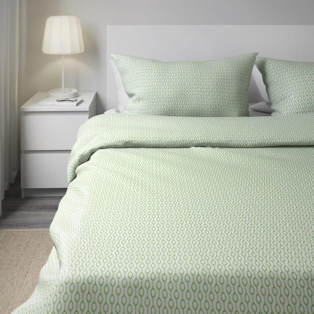 la parure de lit vintage. Black Bedroom Furniture Sets. Home Design Ideas