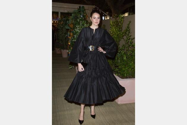 Shailene Woodley en Dior
