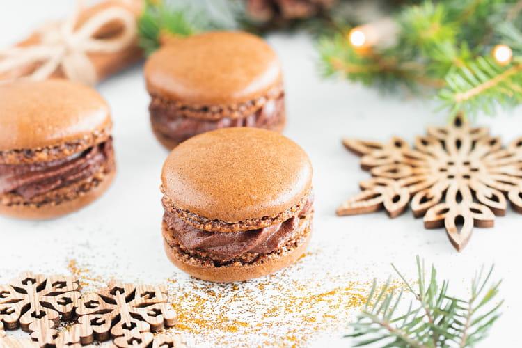 Macarons à la mousse au chocolat