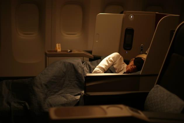 Business Class: un sommeil dans le plus grand des conforts
