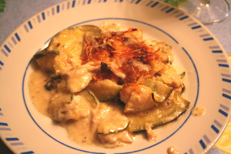 Lasagnes courgette et cabillaud