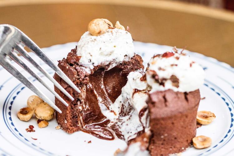 Coulant au chocolat de Thibaut Darteyre
