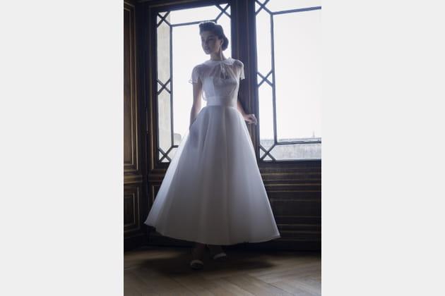 Robe de mariée Bardot