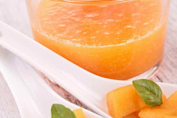 Soupe de melon fraîche et légère