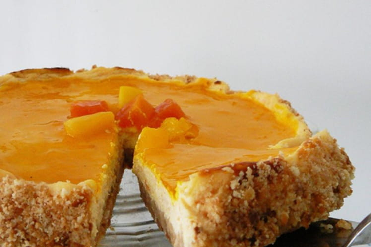 Cheesecake aux fruits exotiques