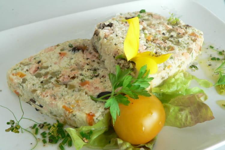 Terrine de poissons aux petits légumes