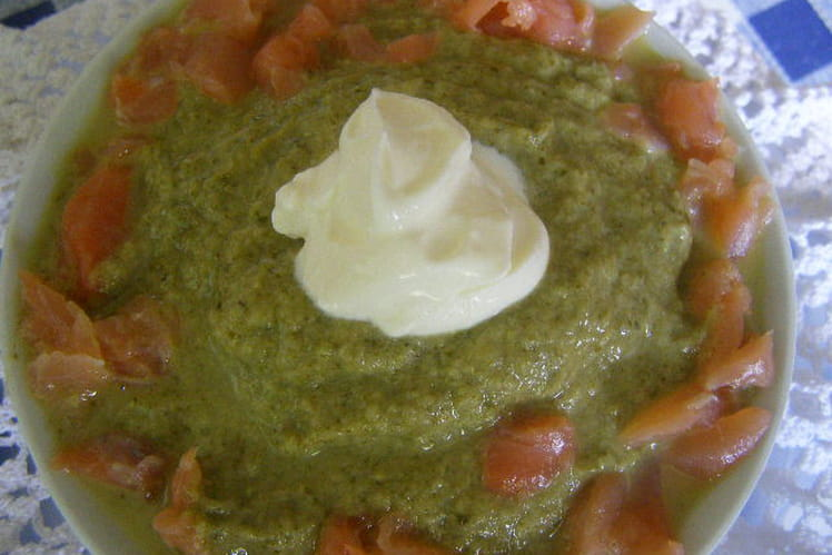 Mousse de radis (basses calories)