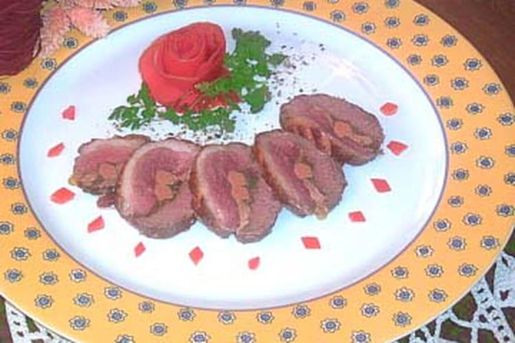 Magret au foie gras et morilles