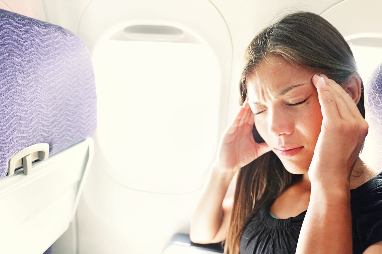 Prendre l'avion malgré un problème de santé: fièvre, stent, otite...
