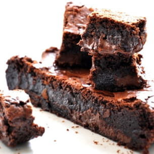 brownies au nutella