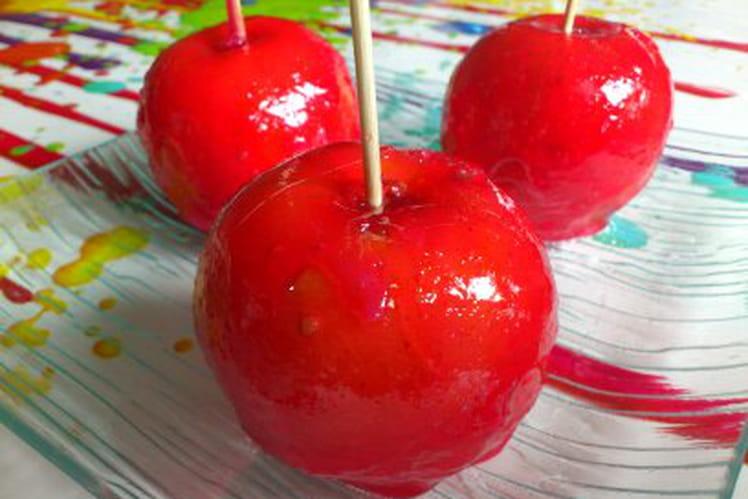 Pomme d'amour faites maison