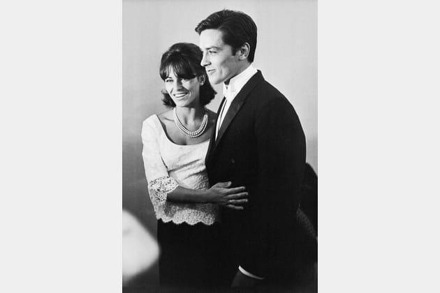 Splendide avec sa femme Nathalie aux Oscars