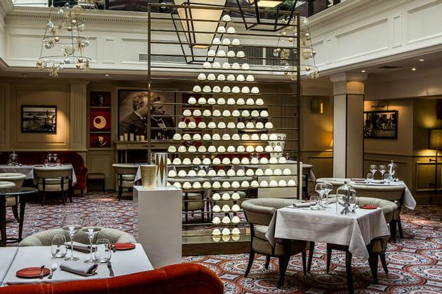 Le sapin de Noël de l'Hôtel Scribe Paris